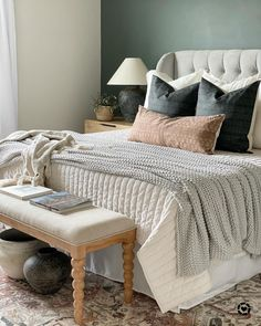 Dream Bedroom, Home Bedroom, Bedroom Decor, Master Bedrooms, Hill Country Homes, Bedding Inspiration, Chic Bathrooms, Sonoma Goods For Life, Cozy Place