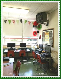 ladybug classroom schoolgirl style classroom decor5