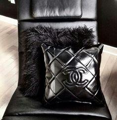 Chanel pillows.