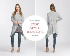 · 45% Off Your 1st Order Nordic Button Knit Cardigan $ 36.00 Long sleeve, one-button, wrap duster cardigan with asymmetrical hem. This cardigan is made with brushed two-toned hacci knit fabric that is of medium weight, has very soft fuzzy texture and drapes well. This fabric has great stretch. This cardigan is very warm.