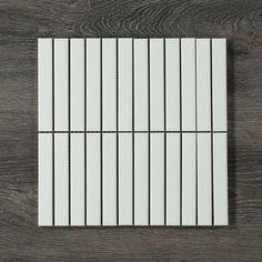 Finger Mosaic Matt White - Mosaic Decorator - Shop By Look - Shop Tiles Chevron Bathroom, Chevron Tile, Diy Bathroom Decor, Bathroom Ideas, Old Bathrooms, Small Bathroom, Master Bathroom, Tiles For Less, White Mosaic Tiles