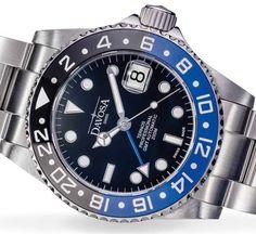GMT-Version eines Taucheruhren-Klassikers: Davosa Ternos Professional GMT