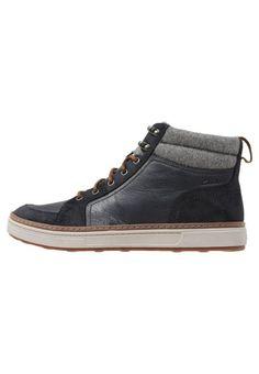 #Clarks #LORSEN #TOP #Sneaker #high #navy für #Herren -