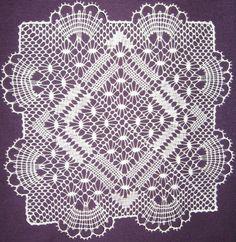Pañuelos sin tela - MARISA Cebrian - Álbumes web de Picasa Crochet Diagram, Filet Crochet, Bobbin Lace Patterns, Crochet Patterns, Bobbin Lacemaking, Types Of Lace, Linens And Lace, Lace Making, Antique Lace