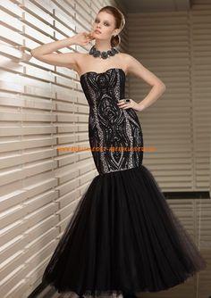 Billig Abendkleider schwarze schicke 2013