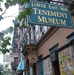 Tenement Museum, terrific tours of original apartments on the lower east side, with great stories of original residents through the decades, a must