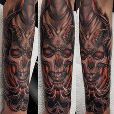 English Uk, Skull, Tattoos, Tatuajes, Tattoo, Tattos, Skulls, Sugar Skull, Tattoo Designs