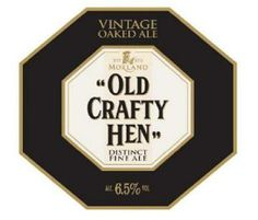 MORLAND OLD CRAFTY HEN- a superior ale from 'Old Speckled Hen'. Brewed with a blend of the famous old 5X, this 6.5% ABV beer combines a distinctive malty taste with a satisfying smooth raisin finish.