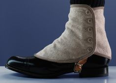 ✨ BUY SPATS at: www.TheSpat.com ✨Spats were worn to protect Mens shoes but were also a symbol of wealth. Vintage Spats - This is how the SPAT-History started. Funny how things change. Now, SPATS are more stylish than the shoe, that has to be protected.