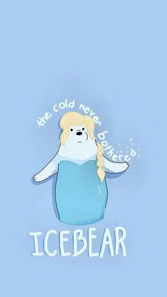 Ice Bear has ice powers