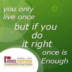 #Voicecription : Today's #Quote