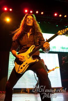 Chris Broderick in action.