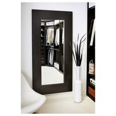 MONGSTAD Spiegel - zwartbruin - IKEA
