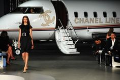 I am sure there is no better way to fly. #chanel