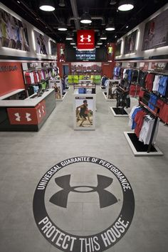 Under Armour's first Euro outlet store by storeage