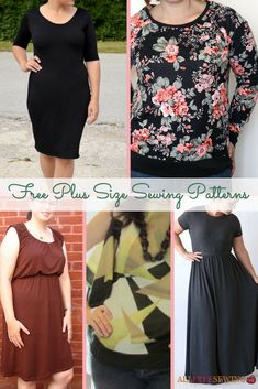 Plus size sewing patterns make it easy to make fashion-forward outfits at home! #diyfashion