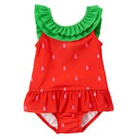 Summer is in full swing, and if you haven't picked out a swimsuit for your little one, then be sure to check out these 20 adorable swimsuits.