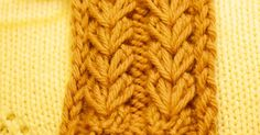 Flat knitting:  A multiple of 6 stitches, plus 3.  Rows 1 through 4 are the set-up rows. Rows 5 through 8 are repeated the desired numb...