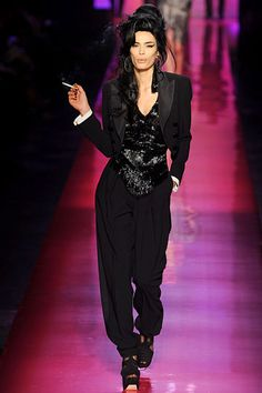 Jean-Paul Gaultier S/S 12' (Amy Winehouse inspiration) BEAUTIFUL CLOTHES
