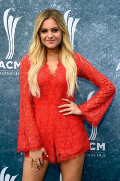 Kelsea Ballerini - 2015 ACM Honors at Ryman Auditorium in Nashville, Kelsea Ballerini Style, Outfits and Clothes. Country Female Singers, Country Music Artists, Country Music Stars, American Country Music Awards, Kelsea Ballerini, Pop Singers, Famous Singers, Beautiful Celebrities, Beautiful Women
