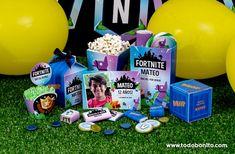 Las tortas más creativas de Fortnite - Todo Bonito Birthday Diy, Birthday Party Themes, Party Time, Llamas, Drink, Cakes, Birthday Party Photography, Man Party, Crepe Paper Streamers