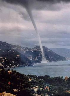 Water Spout, Liguria, Italy  https://sphotos-a.xx.fbcdn.net/hphotos-ash3/603669_634303833253596_1112557851_n.jpg
