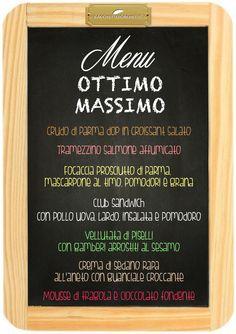 Ottimo Massimo (pranzo) Ordina qui www.bacchetteforchette.it/proposta/52