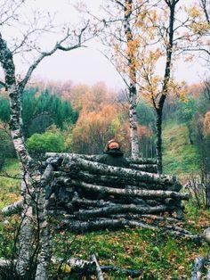 Moose hunting in Taskeby, northern Norway.
