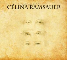 Voici la pochette du nouvel album de Célina Ramsauer qui contient une chanson inédite de Georges Moustaki (de la collection www.moustaki.nl), Le dessin de la pochette est de Gilles Poulou et montre les yeux de Célina, Moustaki et le fils de Célina