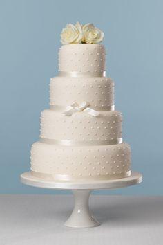 Lemon Sky Cakes   Wedding Cakes   Chic Pearls Cake