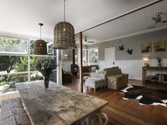 RUSTIC AUSTRALIAN HOME ON THE EDGE OF THE BUSH - STYLEJUICER