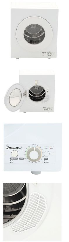 Dryers 71254: Magic Chef 2.6 Cu. Ft. Compact Electric Dryer Portable Apartment Clothes, White -> BUY IT NOW ONLY: $279 on eBay!