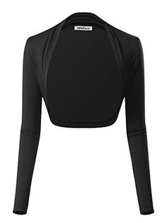 Women's Shrug Sweaters - MsBasic Womens Versatile Open Front Lightweight Long Sleeve Bolero Shrug ** Be sure to check out this awesome product. (This is an Amazon affiliate link)