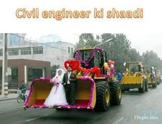 Marriage of civil Engineer
