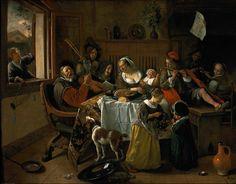 Jan Havicksz SteenThe merry family