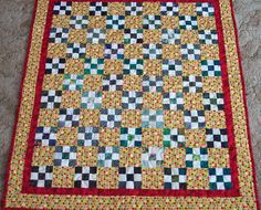 Baby quilt by quiltsbyelsie on Etsy, $45.00