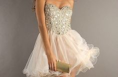 sherri hill pinkish nude dress