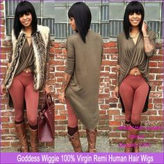 Find More Wigs Information about Short Bob Full Lace Wigs With Bang For Black Women Brazilian Human Hair Lace Front Bob Wigs With Baby Hair,High Quality wig funny,China wig package Suppliers, Cheap wig needle from Qingdao Baina Human Hair Store on Aliexpress.com