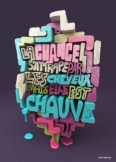 Poster de typographe