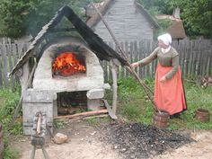pictures 1600s cooking - Google Search