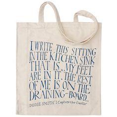 I Capture the Castle - Dodie Smith - Canvas Shopper