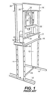 Patente US20020046661 - Hydraulic press - Google Patentes