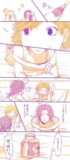 【漫画】「さっきからこっち見てはあの笑み…」(バンド松の数字)