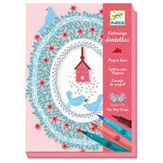 Paper Lace Decoupage Craft Kit by Djeco. £11.95.  www.funkystationeryandartstuff.co.uk