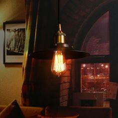 Elfeland Edison Vintage Glhbirne E27 40W Industrial Retro Stil Warmweiss Dimmbar Fr Hngelampe Wandleuchte