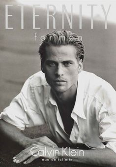 Mark Vanderloo - Blond, chiseled, and quintessentially '90s, Vanderloo was to modeling what Brad Pitt was to the movies. He was even a part of a pouty super couple, fronting classic campaigns for DKNY with his then-wife, Esther Cañadas.
