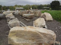 Placement Rocks For Landscape and Building Projects From Wicki Stone