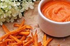 Ginger5-Spice Ketchup, Double Fried Sweet Potato French Fries Well, last week I set off on a mission to end this. I figured that if I found a recipe for a good homemade ketchup that rocked my world…