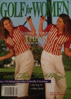 Going back in time. KPJ on  Golf for Women cover 1997 KPJgolf.com