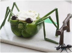 Bug Themed First Birthday Party Menu Halloween, Halloween Birthday, Halloween Treats, Healthy Halloween, 6th Birthday Parties, Birthday Fun, Birthday Ideas, Frozen Birthday, Ladybug Party